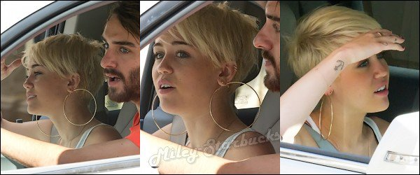 23/08 Miley et Cheyne font du shopping