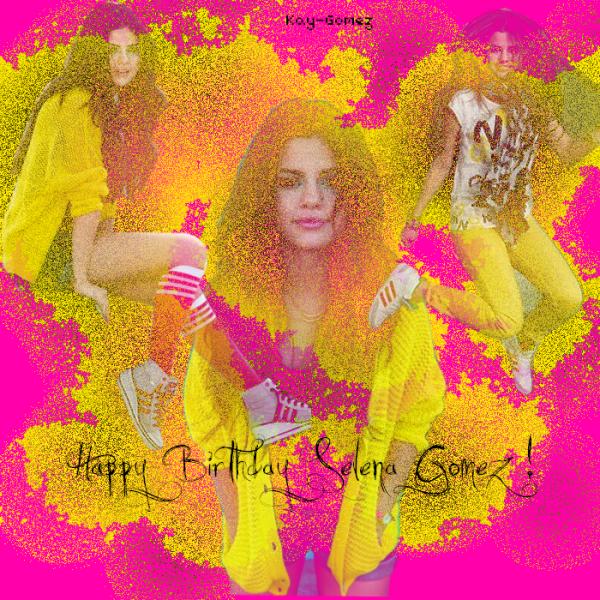Joyeux Anniversaire Selena !