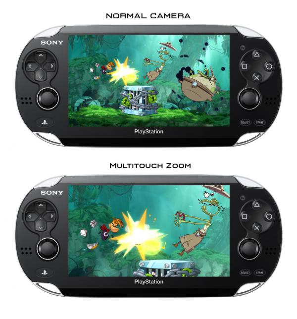 Screenshots 3DS & PS Vita
