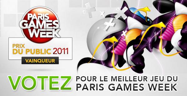 Votez pour le meilleur jeu du Paris Games Week : Rayman Origins !