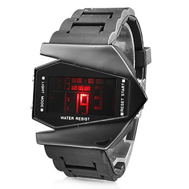 Montre LED pour Homme Edition V, Bracelet en Silicone prix:20¤