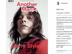Harry Styles : Comme vous ne l'avez jamais vue pour ANOTHER MAN !