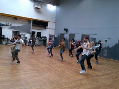 répétition danse