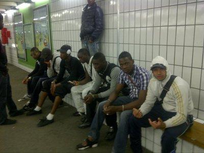ekipe d'LP187 a la gare de montigny