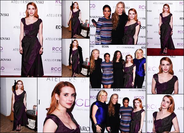 . 23/02/17 -Emma Roberts était présente à la soirée des Pre-Oscar dans une résidence privée à Los Angeles. Nous retrouvons notre belle actrice lors de cette soirée Pre-Oscar dans une robe noire et violette, qui lui va tellement bien, je lui accorde un joli top ! .