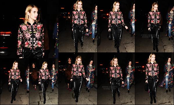 . 06/01/17 -Emma Roberts a été photographiée se rendant au«Tallulah Willis Gallery Show» àLos Angeles. Je trouve cette tenue très jolie, n'étant pourtant pas fan des sorties joggings. Elle s'est également rendue à l'anniversaire de Cade Hudson  .
