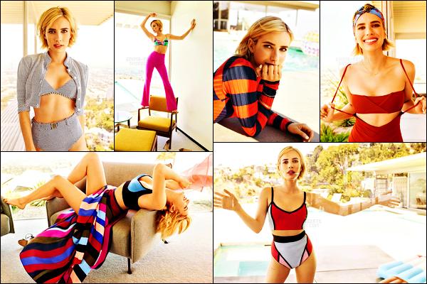 . Découvrez les photos du shoot d'Emma Roberts pour le magazine « Shape » .