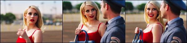 . Emma Roberts à l'affiche dans la vidéo « The Postman Dreams 2 » by Prada. .