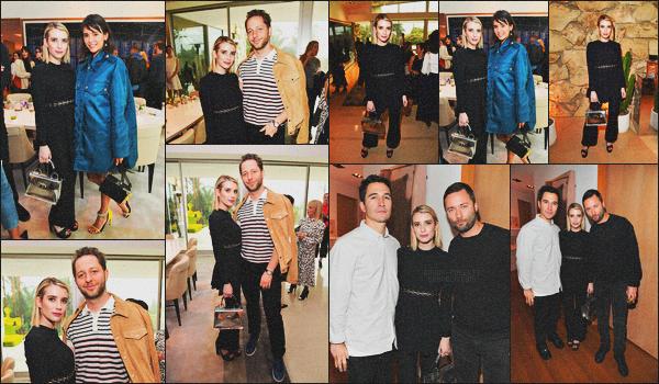 . 02.03.18 - Emma Robertss'est rendue au lancement du parfum de la marque «Proenza Schouler»'▬'dansBH, CA ! C'est pour le lancement du premier parfum de la marque que la belle blonde s'est rendue à Beverly Hills, avec Nina Dobrev, un beau top. .