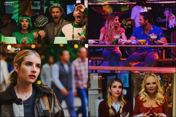 """. Découvrez les premiers stills du prochain film d'Emma""""—""""« Holidate »""""qui sortira durant Octobre 2020 ! ."""