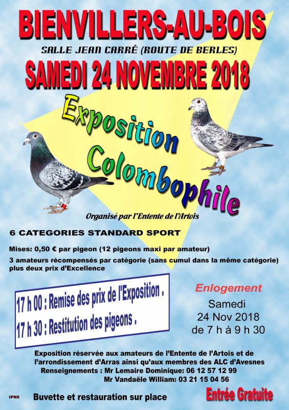 EXPOSITION ENTENTE DE L'ARTOIS