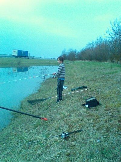 pêche de la carpe au coup et au moulinet