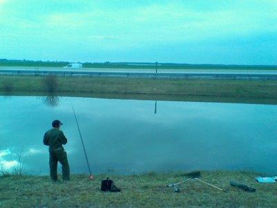 poste de pêche
