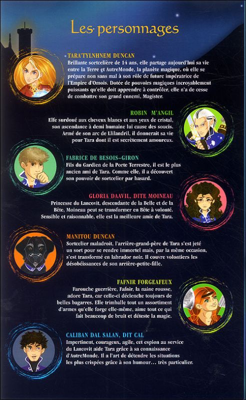 Personnages principaux de tara duncan blog de tara tylanhnem duncan - Tous les personnages de violetta ...