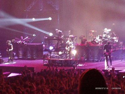 voila les photo du concert