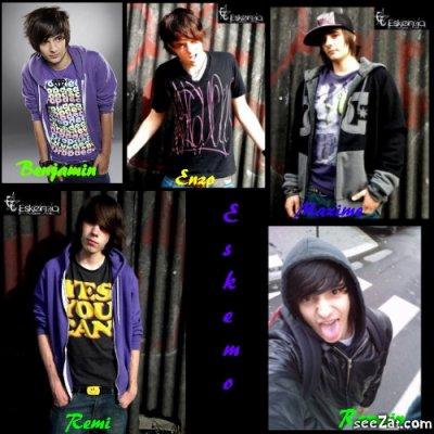 Presentation des 5 membre du groupe