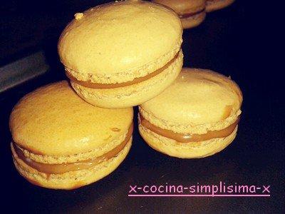 ~ Macarons au café