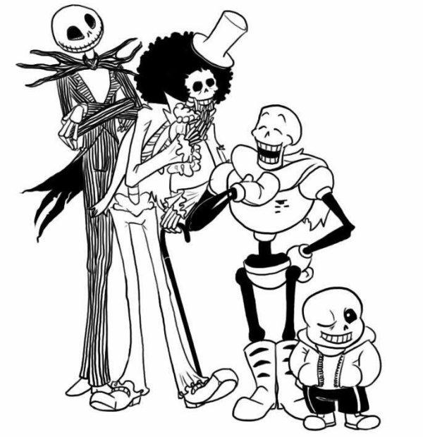 Le gang des squelettes