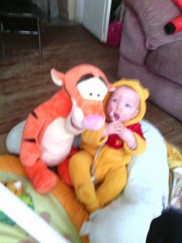 Ismael et son tigrou