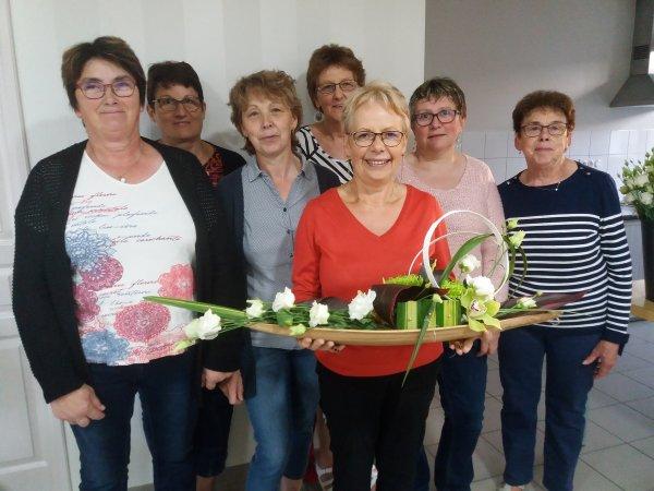 art floral de la fête des mères 2018
