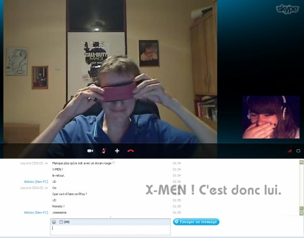 Délires sur Skype with Robaballe. ♡