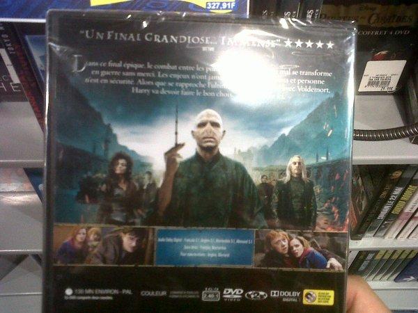 DVD HP7P2 Edition Simple ! :)