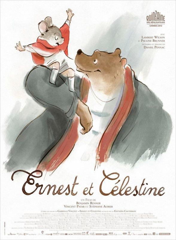 CANNES 2012 Ernest et Célestine