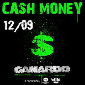 """Canardo """"CASH MONEY"""" nouveau son le 12/09"""