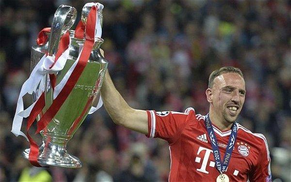 Ribéry, 3éme pour World Soccer