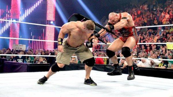 Lesnar détruit le bureau de Triple H ; Shield gagne encore ; Ryback attaque Cena et tous les resultats de RAW