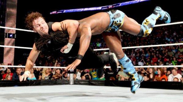 Barrett attaque Fandango ; 1ère victoire de Curtis Axel ; Shield gagnent encore et tous les resultats de SD