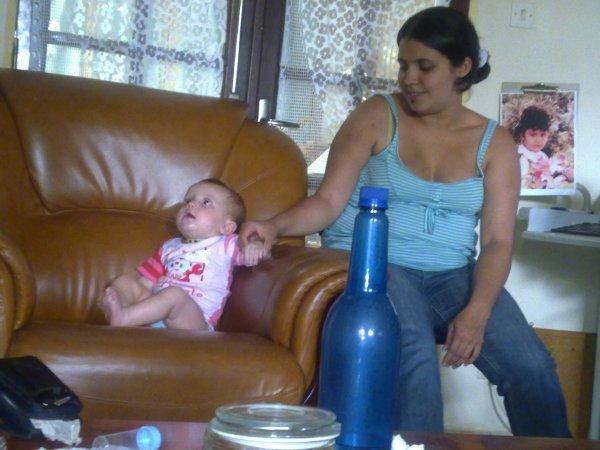 ma grande soeur et ma petite niéce