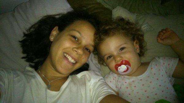 Selfie mère et fille