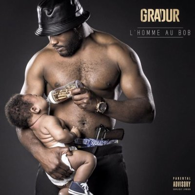 "COVER+TRACKLIST ""L'Homme Au Bob"" De Gradur"
