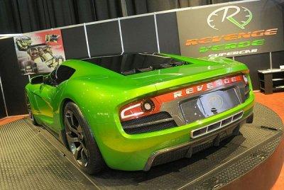 Revenge Verde Supercar Concept