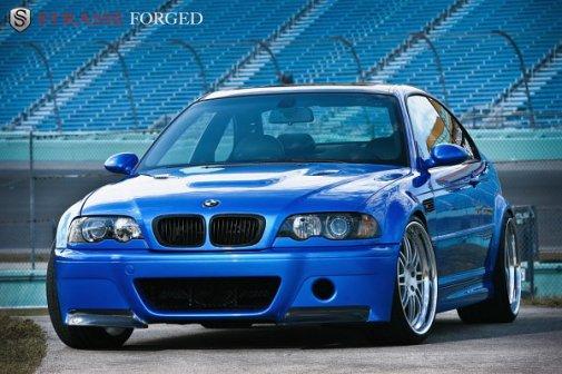 BMW M3 E46 Srasse Forgé