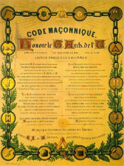 Code Maçonnique (1778)