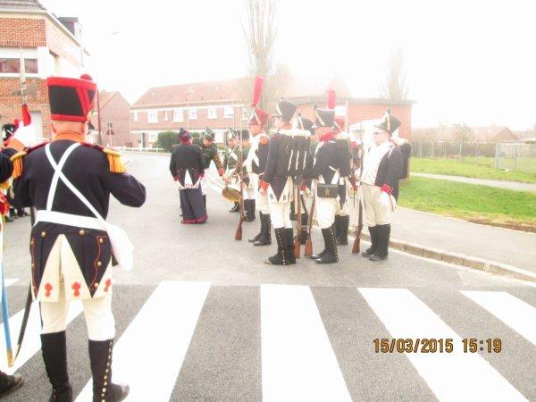 voici notre premiere sortie a hazebrouk avec le 112eme regiment belge d'infenterie de ligne de gosselies