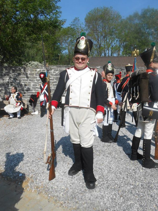 voila les ami je suis randré dent leta major du 112eme regiment bellge d'infanterie de ligne de gosslies