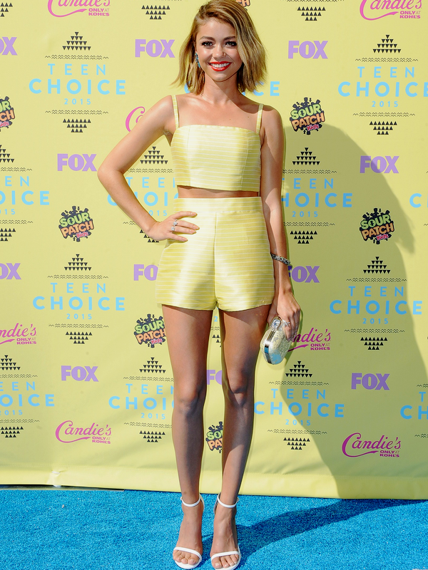 ♥Sarah Hyland ♥16 Août 2015 - Teen Choice Awards