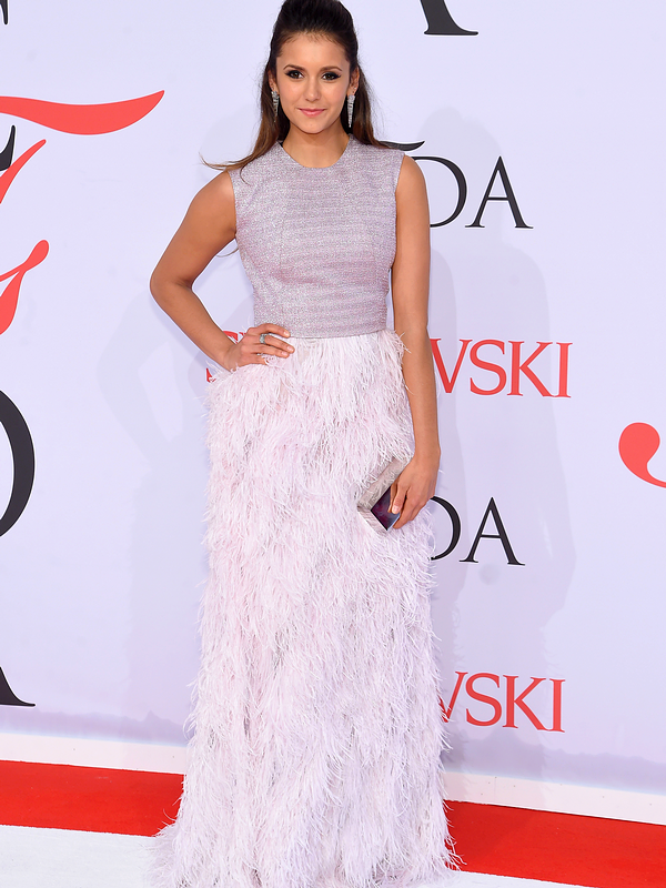 ♥Nina Dobrev ♥01 Juin 2015 - CFDA Fashion Awards