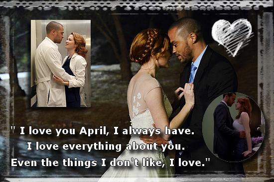 [Mon Top 5] Mes scènes préférées de Grey's Anatomy : April et Jackson