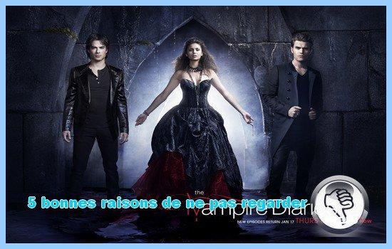 [5 bonnes raisons de ne pas (ou plus) regarder...] Vampire Diaries