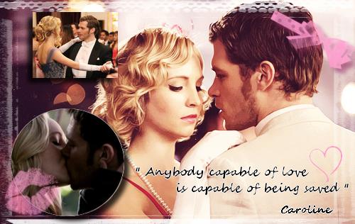 [Mon Top 5] Mes scènes préférées de Vampire Diaries : Klaus et Caroline