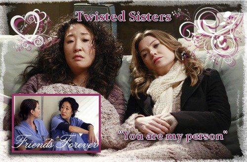 [Mon Top 5] Mes scènes préférées de Grey's Anatomy : Meredith/Cristina