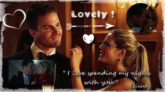 [Mon Top 5] Mes scènes préférées de Arrow : Oliver et Felicity (réactualisé le 13/06/2016)