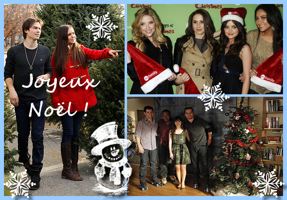 [Spécial Noël] Joyeux Noël !!!! (en musique avec Glee)
