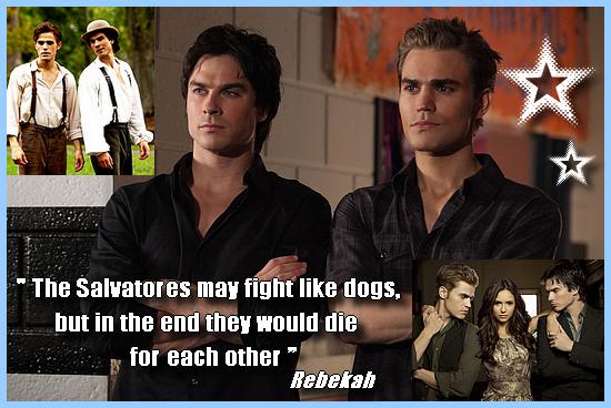 [Mon Top 5] Mes scènes préférées de Vampire Diaries : Stefan/Damon