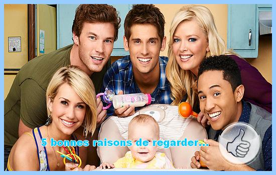 [5 bonnes raisons de regarder] Baby Daddy