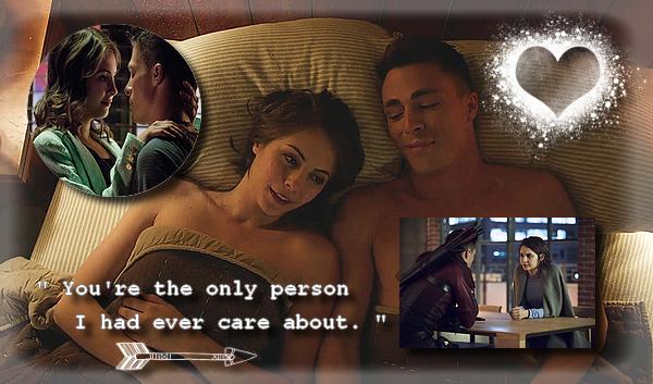 [Mon Top 5] Mes scènes préférées d'Arrow : Thea et Roy